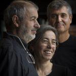 V.l.n.r.: Ramon Vilalta, Carme Pigem und Rafael Aranda von RCR Arquitectes, Spanien.