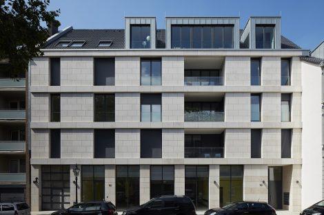 Neubau Wohn- und Geschäftshaus in Düsseldorf