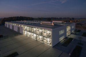 Das Lemken-Entwicklungswerk für die Konstruktion und Prototypenentwicklung neuer Maschinen.