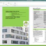 Schüco ist derzeit das einzige Systemhaus, das vom Institut für Bauen und Umwelt e. V. (IBU) zertifizierte individuelle EPDs mit einer Software anbietet.