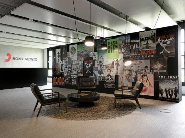 Sony Music, München   Entwurf und Planung CSMM