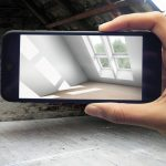 """Mithilfe realitätsnaher Tageslichtberechnung unterstützt die App """"MyDaylight"""" Bauherren und Renovierer bei der Vorstellung vom fertigen Ergebnis des Dachgeschossausbaus."""