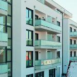 Da fast jede Wohnung mit einem Balkon geplant ist, musste besonders bei den Balkonanschlüssen auf Wärmebrücken geachtet werden.