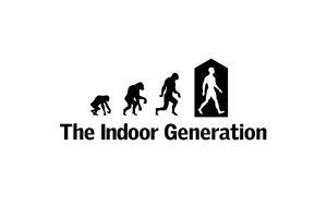 """Die neue """"Indoor Generation"""" verbringt 90 % ihrer Zeit in Gebäuden."""