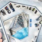 Das Sporthaus L&T in Osnabrück bestreitet ungewöhnliche Wege, um seine Attraktivität zu erhöhen. Das renommierte Architekturbüro Prof. Moths Architekten aus Hamburg plante den Neubau des Sporthauses rund um ein Wellenbecken für Surfer. 7,50 auf 15 Meter g