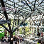 Mensahof der International School, Bonn