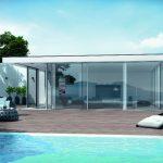 Schüco Seamless – eine puristische Lösung für nahezu rahmenlose transparente Architektur.