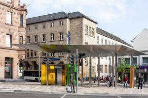 Premiumhaltestelle Münsterplatz
