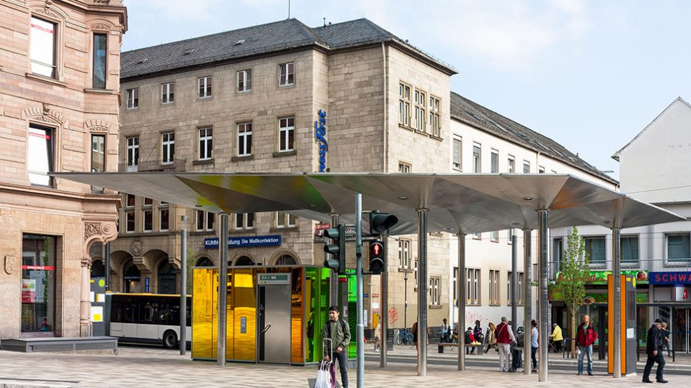 Premiumhaltestelle Münsterplatz