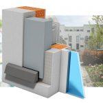 LTM Thermo-Lüfter mit Fassadenabschluss Luftführungskanal Schall und sehr unauffälliger Außenhaube