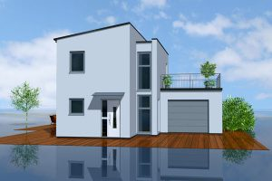 """Das """"Lifestyle Haus"""" der Ytong Bausatzhaus GmbH bietet für jeden Lebensabschnitt die geeignete Grundrisslösung."""