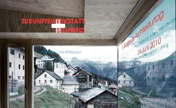 'Zukunftswerkstatt Schweiz': Am 24. Juni findet der 5. Burgauer Architekturtag statt. Dabei stellen namhafte eidgenössische Planer ihre Bauten und Projekte vor. Gleichzeitig wird eine Schau über Schweizer Baukunst mit dem Schwerpunkt Wohnbauten eröffnet.