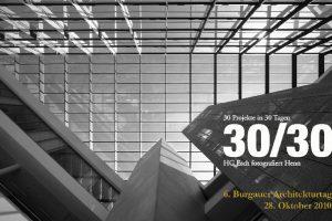 Fokus aufs Detail: Bilder von Hans Georg Esch stehen im Mittelpunkt der Burgauer Architekturtage, die am 28. Oktober bereits zum 6. Mal stattfinden. Der Fotograf hat in 30 Tagen herausragende Bauwerke von Walter und Gunter Henn mit der Kamera festgehalten