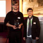 Erfolgreiches Team von COAST Office Architecture: Alexander Wendlik (links) und Zlatko Antolovic (rechts) gewannen den VELUX Architekten-Wettbewerb 2010. Sie überzeugten die Jury mit ihrem Projekt Atelier S, dem Umbau einer denkmalgeschützten Scheune.