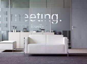 """""""estro"""" Sofaprogramm der Kinnarps Marke Martin Stoll"""