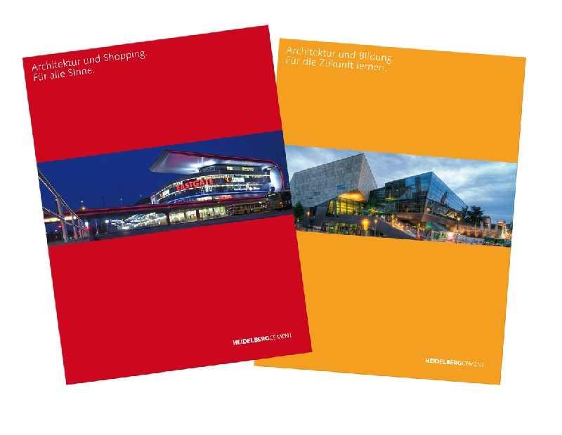 """Die neue Broschüren-Reihe von HeidelbergCement startete 2010 mit den Themen """"Shopping"""" und """"Bildung"""". Die Print-Version kann kostenlos im Internet unter www.heidelbergcement.de bestellt werden."""