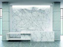 Geometric pattern reception counter