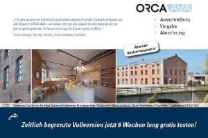 AVA-Prozesse und Kostenmanagement optimieren mit ORCA AVA