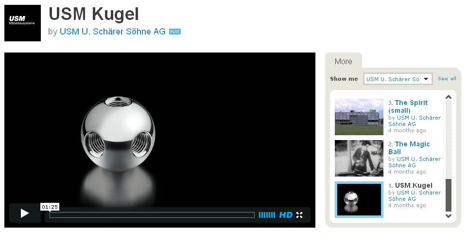 """USM Film """"Die Kugel"""""""