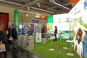 """""""Prima Klima in der Stadt"""" – unter diesem Motto präsentierte sich die HeidelbergCement AG mit TioCem und elf Kooperationspartnern auf der Kommunale 2011 in Nürnberg."""