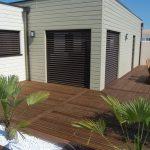 Holzterrassen ohne sichtbare Verschraubung voll im Trend - Die Terrassenverbinder von Knapp®