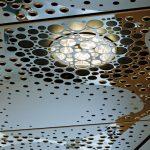 Lindner Lunar - Metalldecke mit Hochglanzoberfläche und 3D-Effekt