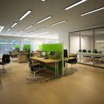 Stellwand Lindner Logic 690 schafft Raum für konzentriertes Arbeiten