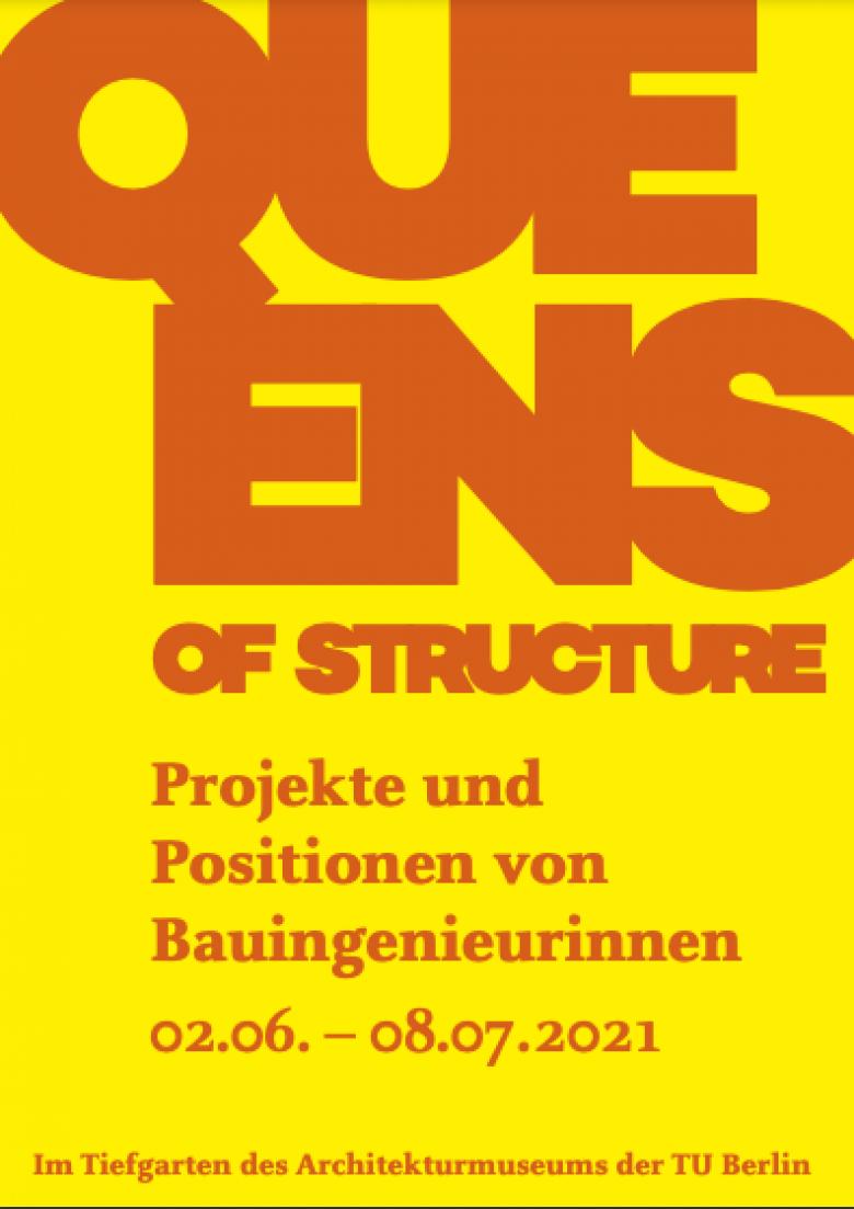 Ausstellungsplakat Queens of Structure   Bild: Queens of Stucture