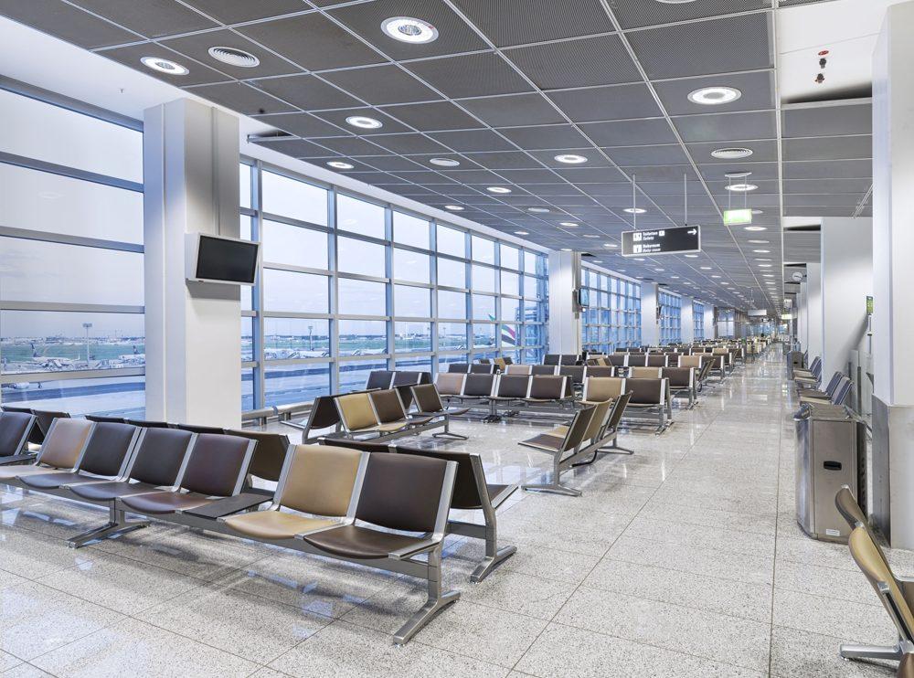 Kusch Bestuhlung Wartebereich Flughafen