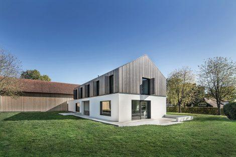 Wohnhaus – Moderner Neubau auf denkmalgeschütztem Hofgut