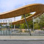 Stadtbahnhaltestelle am Kölner Zoo