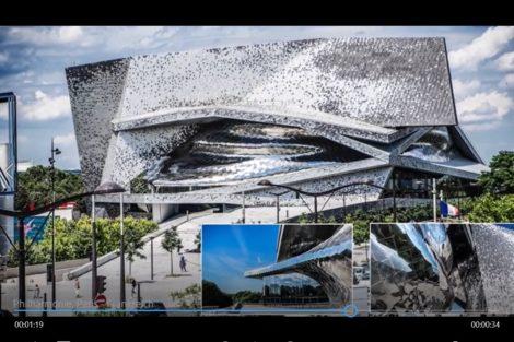 Fassadenverkleidung aus rostfreiem Stahl