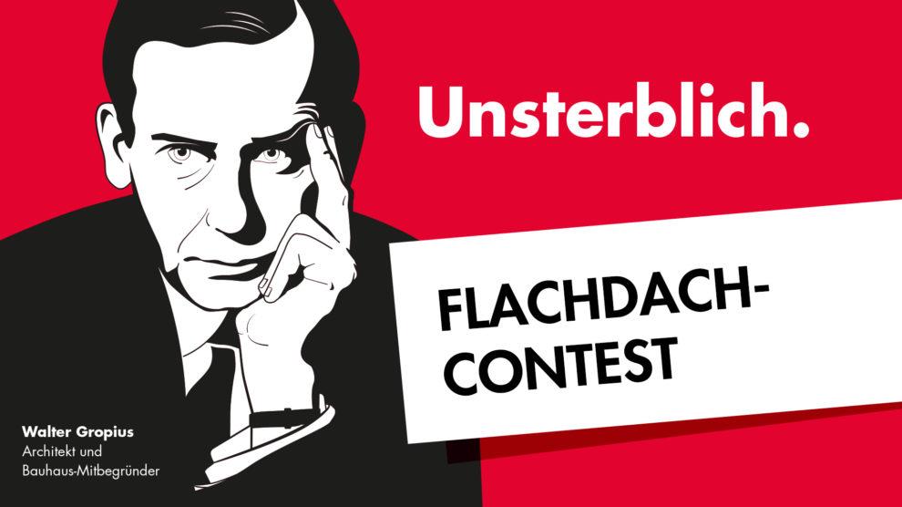 Grafik Flachdach Contest