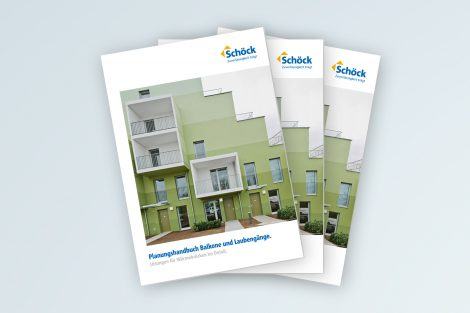 Neues Planungshandbuch für Balkone und Laubengänge