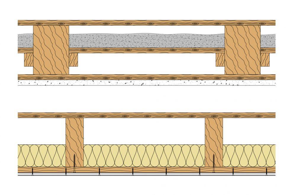Bevorzugt Saint-Gobain Rigips Schallschutz von Holzbalkendecken verbessern OK36