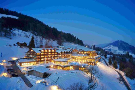 Allgäu inszeniert – Wellness-Resort Bergkristall
