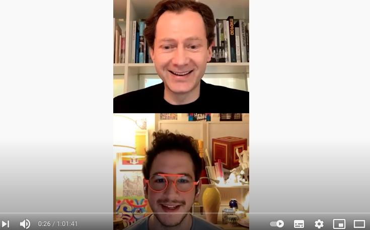 Videostill Interview VDM   Bild: Screenshot you tube
