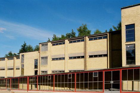 Neuabdichtung Steineisendecke des Schulgebäudes (ADGB), Bernau bei Berlin