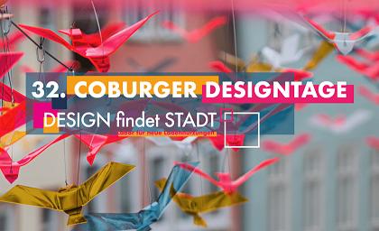 Coburger Deisgntage   Bild: https://2020.coburger-designtage.de/