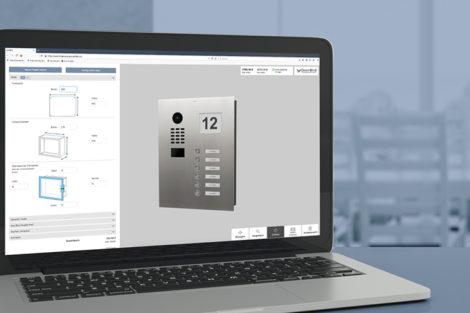 Konfigurator für DoorBird-Türsprechanlagen