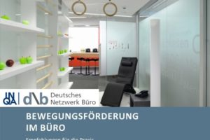 Cover Bewegungsförderung im Büro. | Bild: DNB e.V.