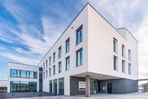 Rotkalk Branchenzentrum Rutesheim Außenansicht