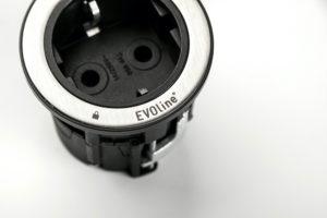 Einzelsteckdose OneLock von Schulte EvoLine