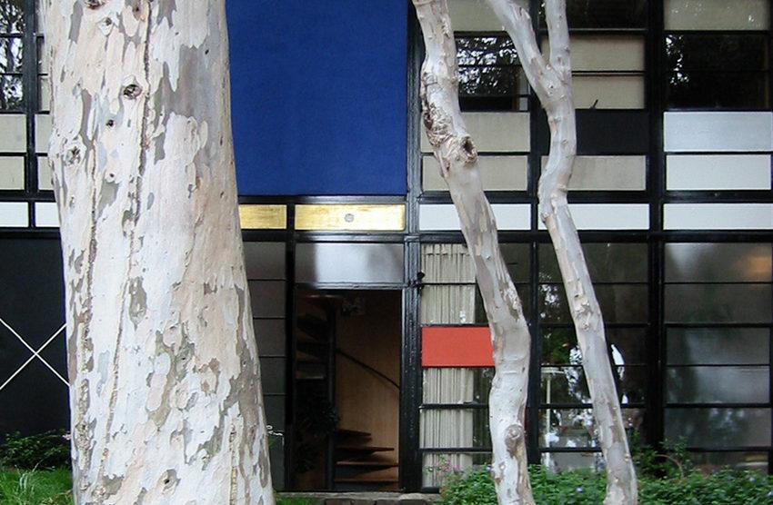 Eames Haus Eingang (Bildquelle: Wikipedia)