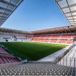 Europa Park Stadion Freiburg von HPP, Innenansicht