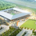 Europa Park Stadion Freiburg von HPP, Visualisierung
