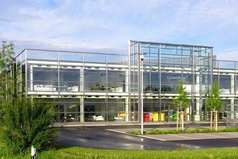 Neues Verwaltungs- und Ausstellungszentrum