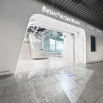 Eingang zum Besucherzentrum Flughafen Frankfurt