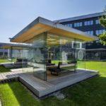 Glas Marte Pavillons für Continental