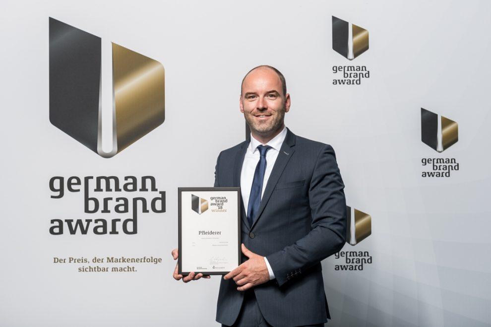 German Brand Award Pfleiderer
